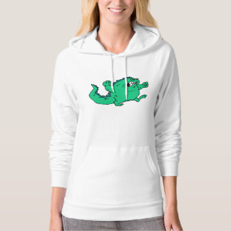 Angry Dinosaur Hooded Pullover