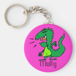 Angry Dinosaur Keychain