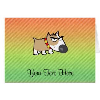 Angry Dog design Card
