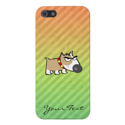 Angry Dog design iPhone 5 Covers