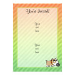 Angry Dog design Personalized Invitation