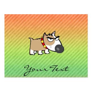 Angry Dog design Postcard