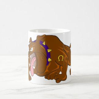 Angry dog magic mug