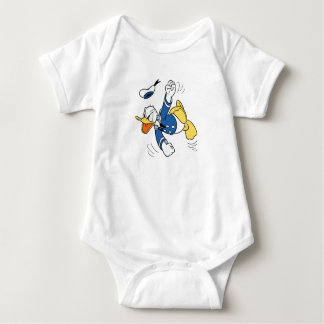 Angry Donald Duck Baby Bodysuit