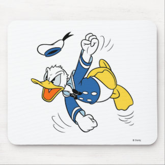 Angry Donald Duck Mouse Pad