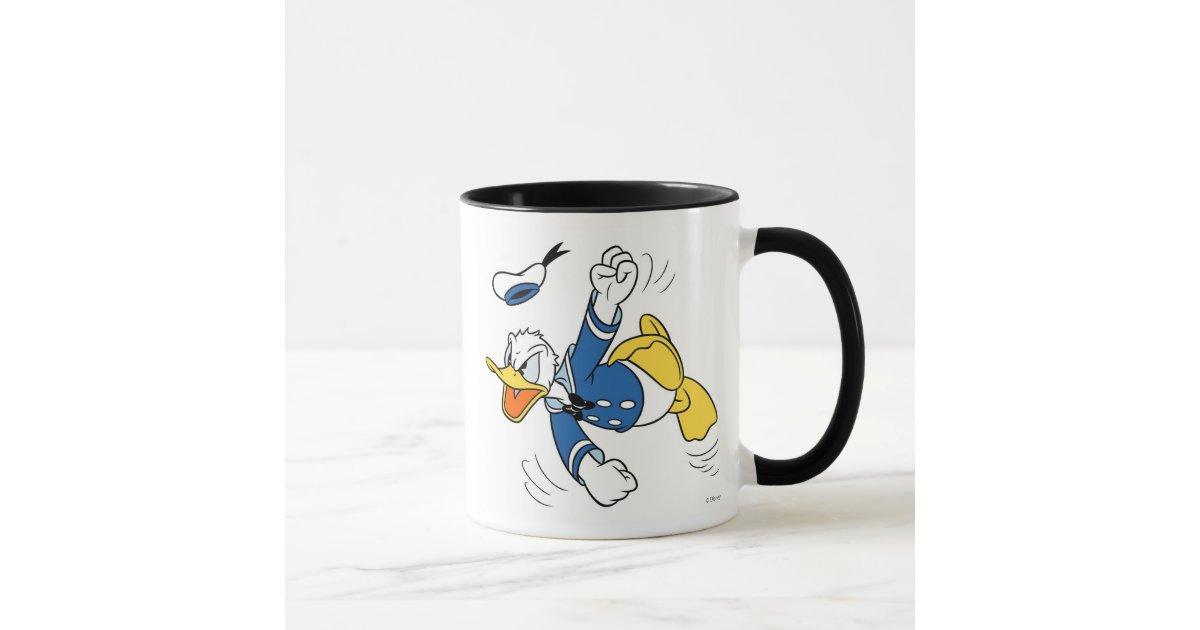 Angry Donald Duck Mug Zazzle Com