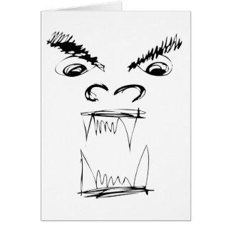 Angry Dragon Card