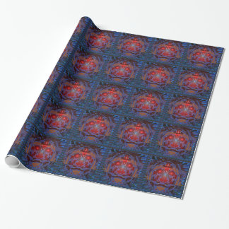 ANGRY Earth Eyes Environment War Crimes Hunger 101 Wrapping Paper