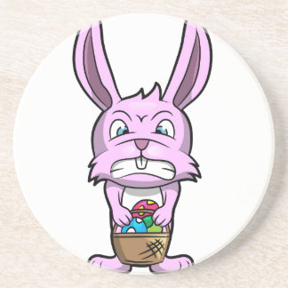 Angry Easter Bunny Coasters