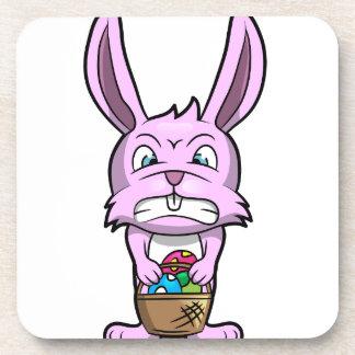Angry Easter Bunny Coaster