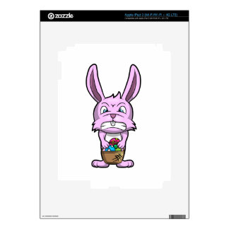 Angry Easter Bunny Decal For iPad 3