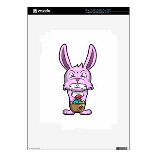 Angry Easter Bunny iPad 2 Skin