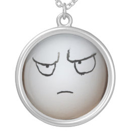 Angry Egg Necklace