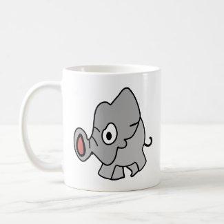 Angry Elephant Coffee Mug
