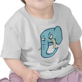 Angry Elephant Tee Shirts