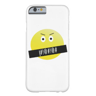 Angry Emoji Barely There iPhone 6 Case