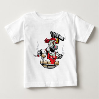 Angry Evil Robot Baby T-Shirt