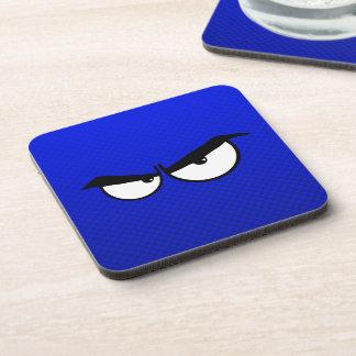 Angry Eyes; Blue Coaster
