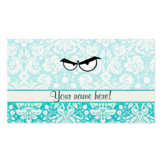 Angry Eyes; Cute Double-Sided Standard Business Cards (Pack Of 100)