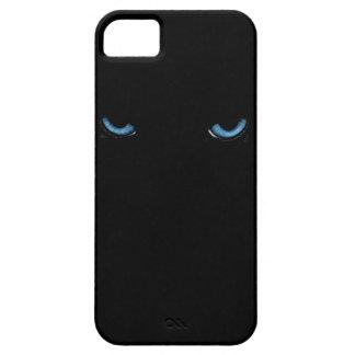 Angry Eyes Feline iPhone 5 Black Case iPhone 5 Cases