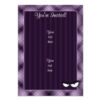 Angry Eyes; Purple Card