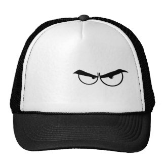Angry Eyes; Rugged Trucker Hats