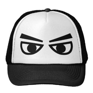 Angry eyes trucker hat