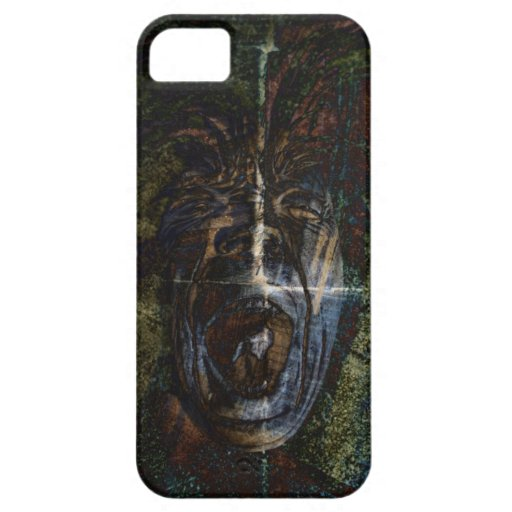angry face iPhone cover iPhone 5 Cases