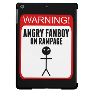Angry Fanboy iPad Air Case