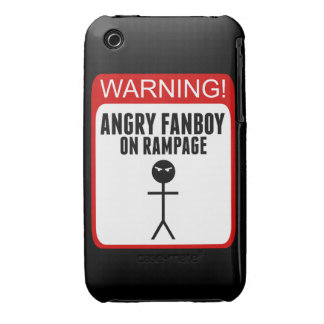 Angry Fanboy iPhone 3G/3Gs Case