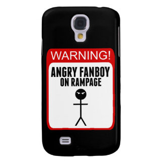 Angry Fanboy Samsung Galaxy S4 phonecase Samsung Galaxy S4 Cover