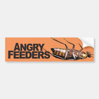 Angry Feeders - Bumper Sticker