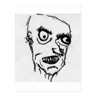 Angry Fella Postcard