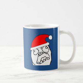 Angry FFFUUU xmas meme Coffee Mug