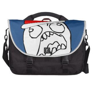 Angry FFFUUU xmas meme Laptop Computer Bag
