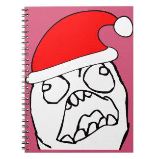 Angry FFFUUU xmas meme Note Book