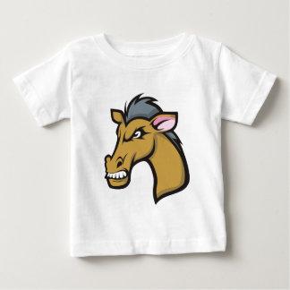 Angry Fierce Cartoon Horse T Shirt