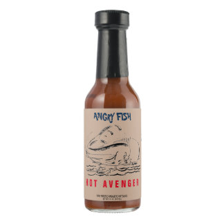 Angry Fish Fire Roasted Habanero Hot Sauce
