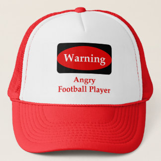 Angry Football Player Hat