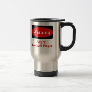 Angry Football Player Mug