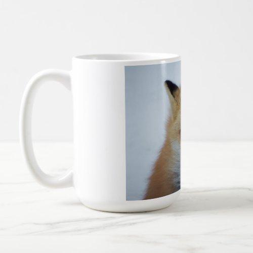 Angry fox mug