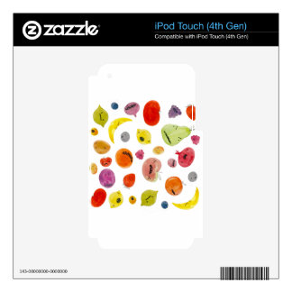 Angry Froot iPod Touch 4G Skin