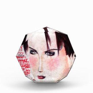 Angry Girl Acrylic Award