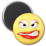 Angry Girl Magnet