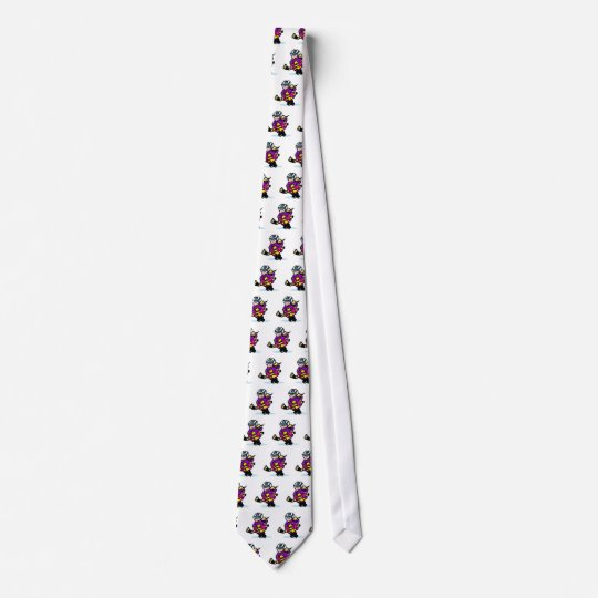 Angry girl player tie