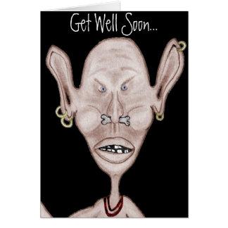 Angry Goblin Card