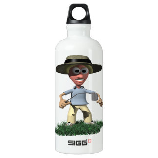 Angry Golfer Water Bottle