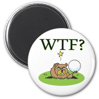 Angry Gopher 2 Inch Round Magnet
