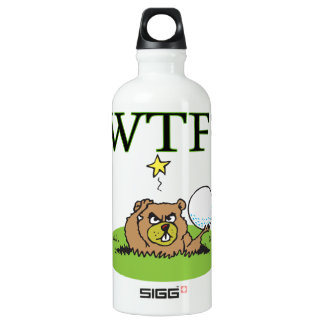 Angry Gopher Aluminum Water Bottle