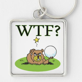 Angry Gopher Keychain